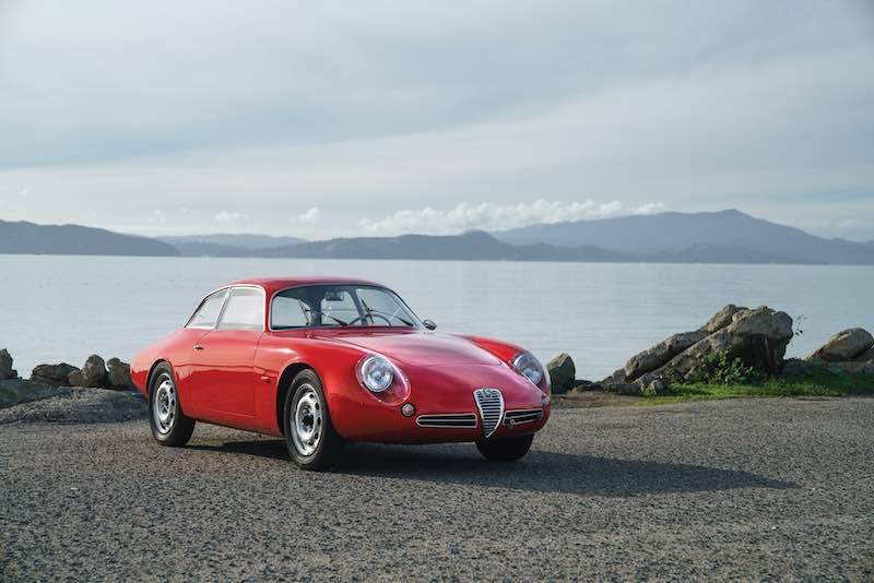 1962 Alfa Romeo Giulietta SZ II (photo: Andrew Schneider)