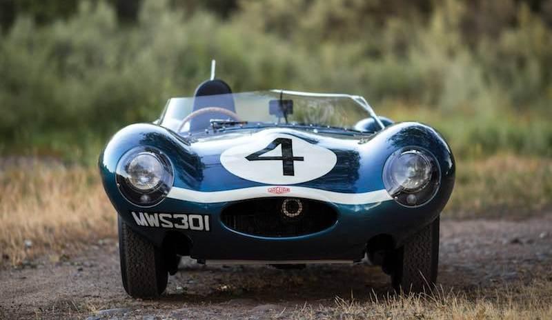 1955 Jaguar D-Type Front
