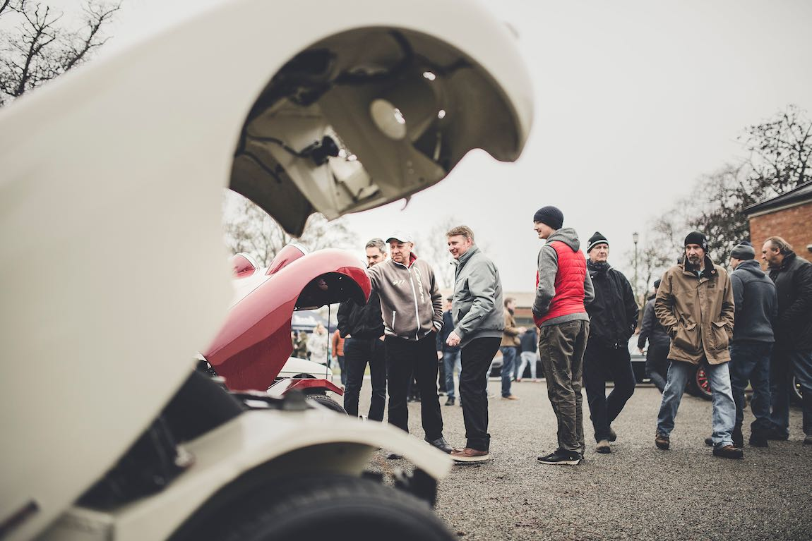 Bicester Heritage Sunday Scramble, January 2017
