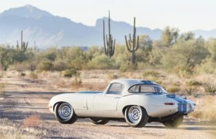 1963 Jaguar E-Type Lightweight Bonhams Scottsdale 2017