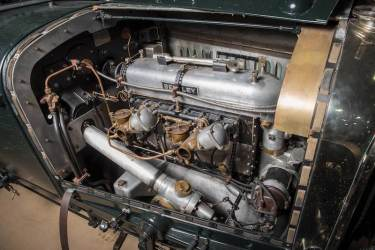 1928 Bentley 4.5-Litre Le Mans Sports Engine
