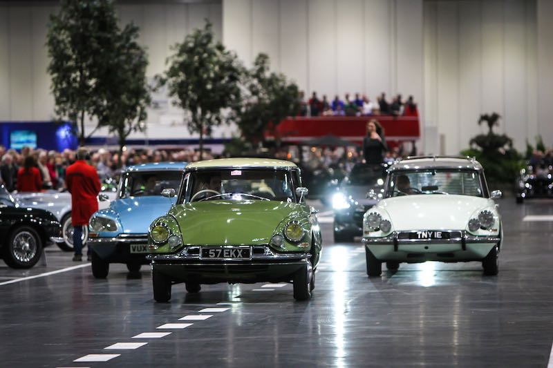 Citroen clelebrated 60 years of the DS