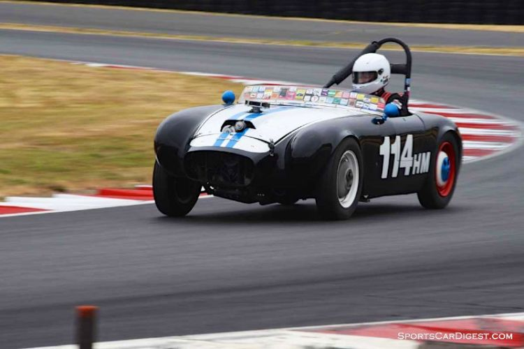 Jean Pierre Molerus' 1954 Nichols Special at Portland Historic Races 2015