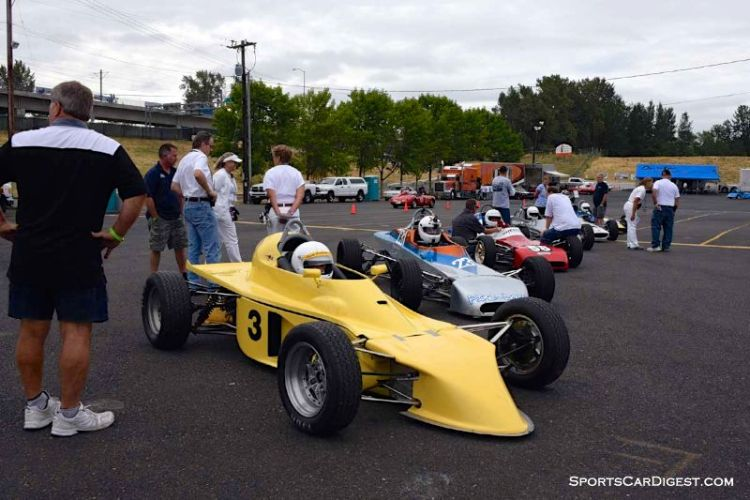 Group 2 at Portland Historic Races 2015