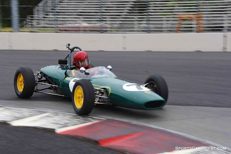 John Farrar's 1968 Lotus 51 at Portland Historic Races 2015