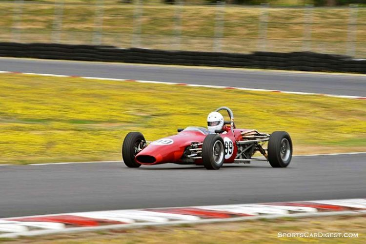Dave Todd's 1969 Titan Mk V  at Portland Historic Races 2015