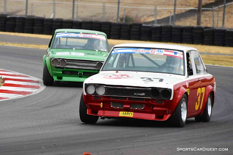 Tom Neely's 1970 Datsun 510 at Portland Historic Races 2015