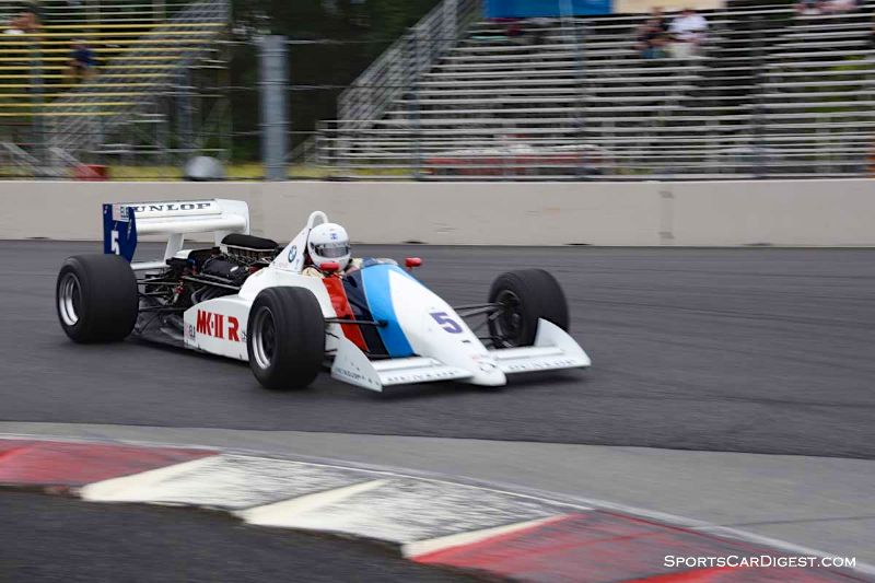 Jerry Kehoe's 1987 March 87B   at Portland Historic Races 2015