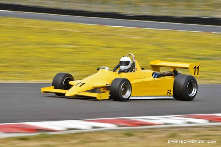 Dave Rugh's 1982 Ralt RT5 at Portland Historic Races 2015