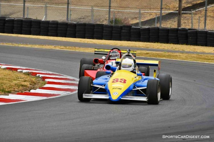 Robert Merritt's 1985 Ralt RT5 at Portland Historic Races 2015