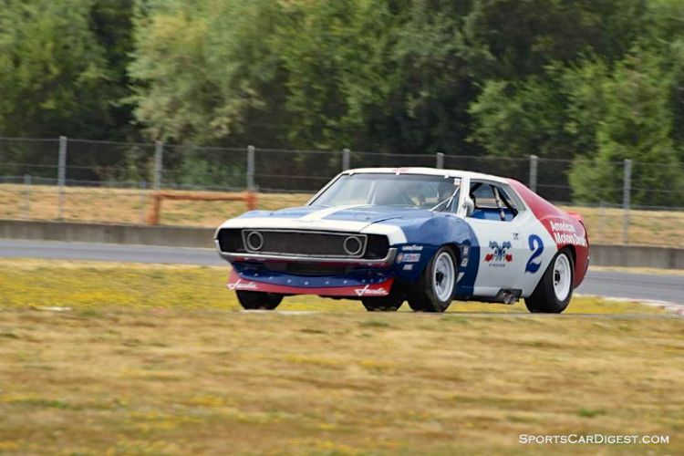 Brian Ferrin's 1971 AMC Javelin at Portland Historic Races 2015