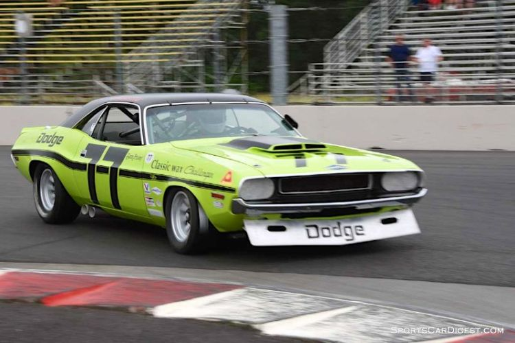 Richard Goldsmith's 1970 Dodge Challenger at Portland Historic Races 2015