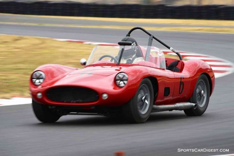 John Long's 1959 Devin SS  Portland Historic Races 2015