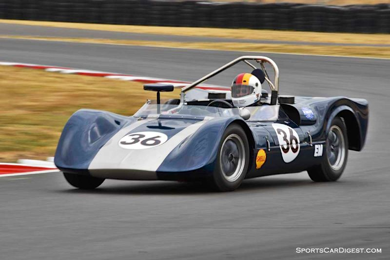 Ron Federspiel's 1964 Crusader Sports Racer at Portland Historic Races 2015