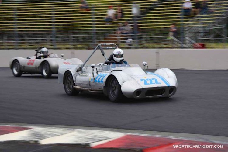 Bill Babcock's 1959 Peyote Mk II at Portland Historic Races 2015