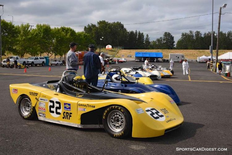Groups 5 and 7 at Portland Historic Races 2015