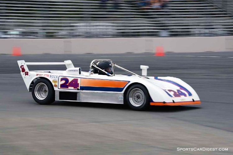 Mark Viskov's 1978 Lola T497 at Portland Historic Races 2015