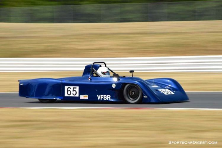 Jason Perkins' 1987 Swift DB-2 at Portland Historic Races 2015