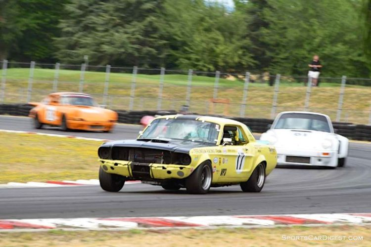 Michael Smith's 1967 Ford Mustang at Portland Historic Races 2015