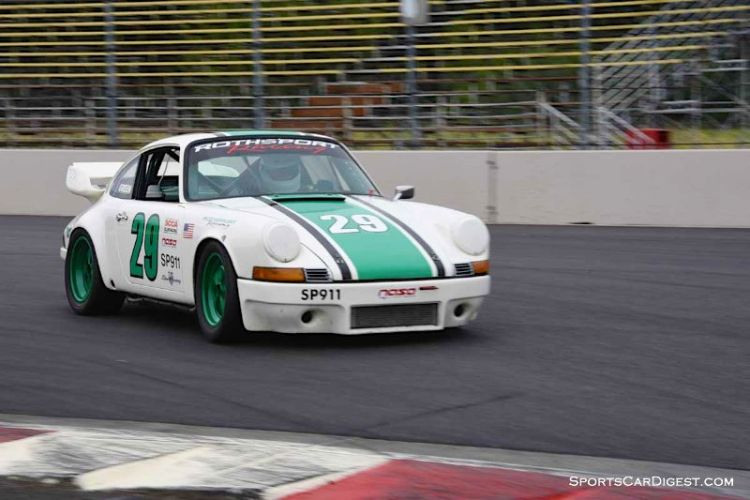 Earl Green's 1973 Porsche 911 at Portland Historic Races 2015