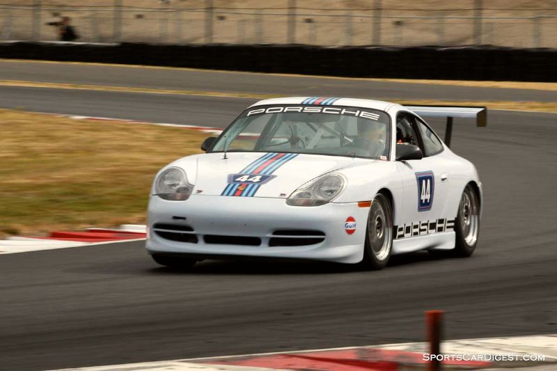 Ernie Spada, Junior's 1999 Porsche 911 GT3 Cup at  Portland Historic Races 2015