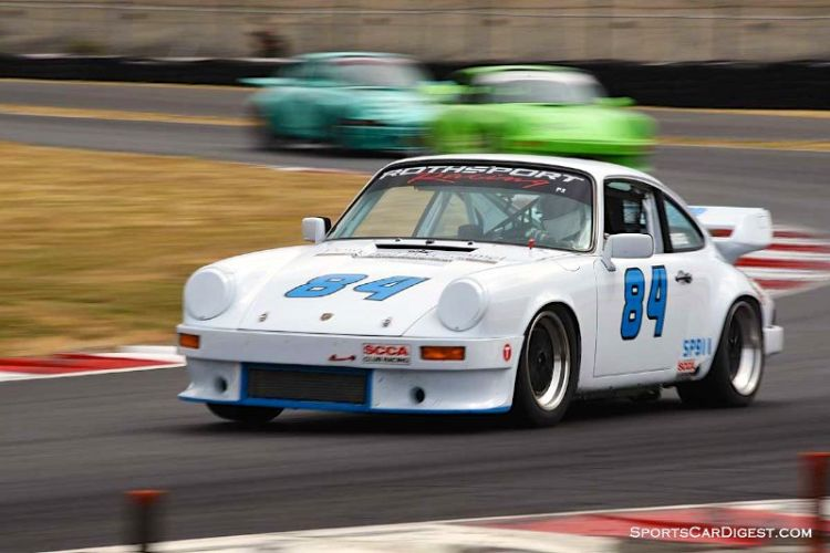 Doug Russell's 1981 Porsche 911SC at Portland Historic Races 2015