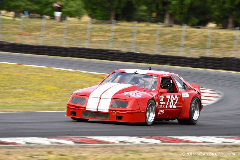 Doug Yip's 1979 Ford Mustang GT1 at Portland Historic Races 2015