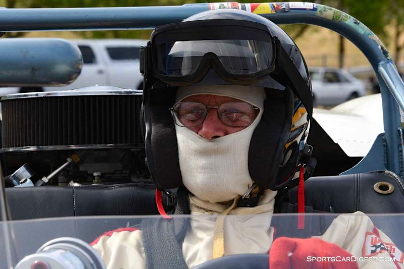 Richard Duncan behind the wheel of the 1966 Leonheart Special at Portland Historic Races 2015