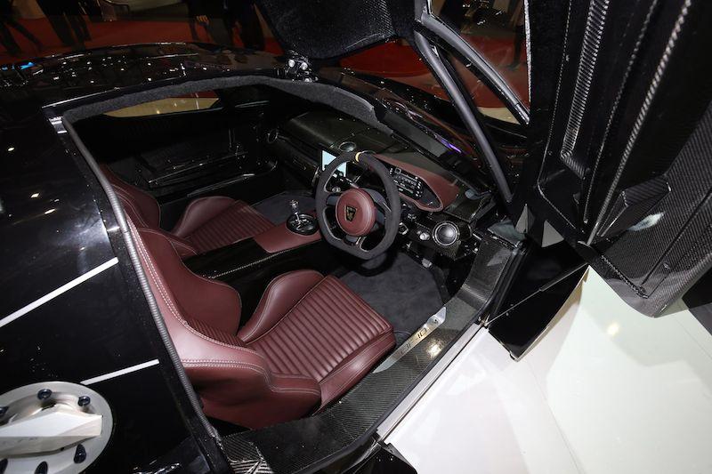 Arash AF10 interior