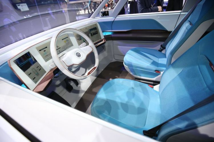 Inside the Volkswagen Budd-e Concept
