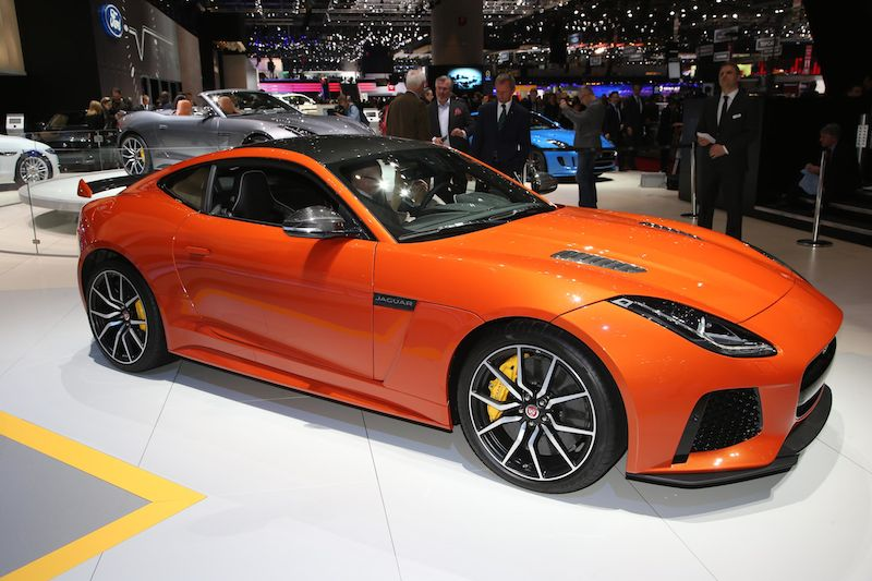 Jaguar F-Type SVR Coupe