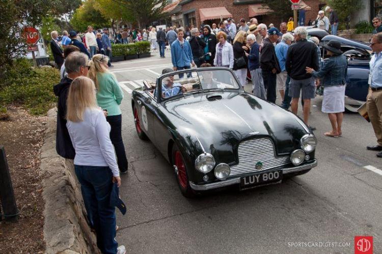 Jeffrey Long - 1953 Aston Martin DB2 DHC