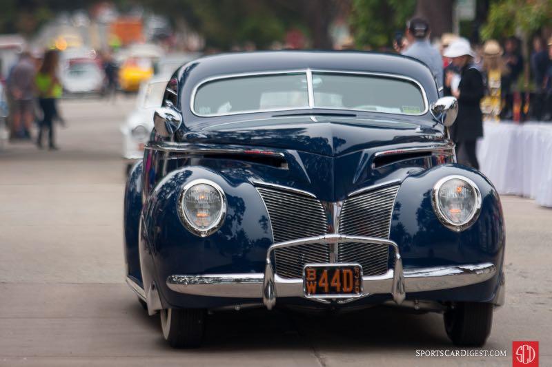 Jack Kiely -1940 Mercury Eight Coupe