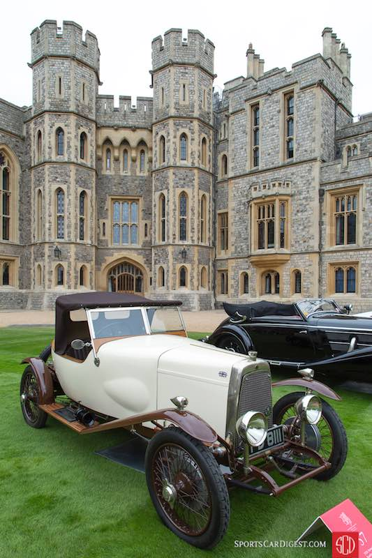 Windsor Castle Concours 2016 Sports Car Digest The Sports