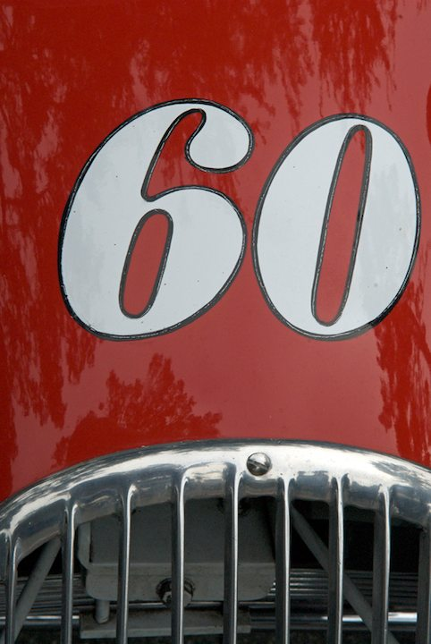 1948 Kurtis Midget chassis tag