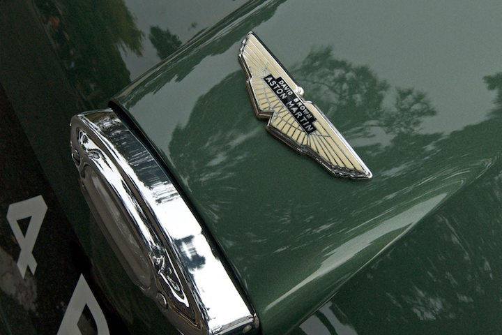 Aston Martin DB4GT Zagato detail