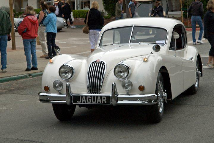 1955 Jaguar XK140 FHC SE