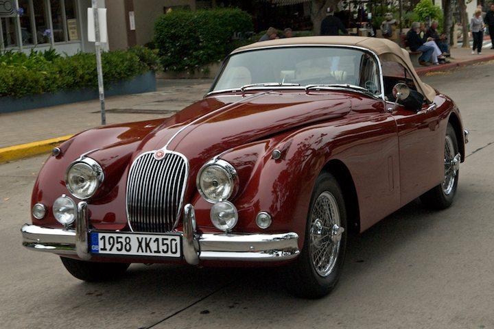 1958 Jaguar XK150 OTS