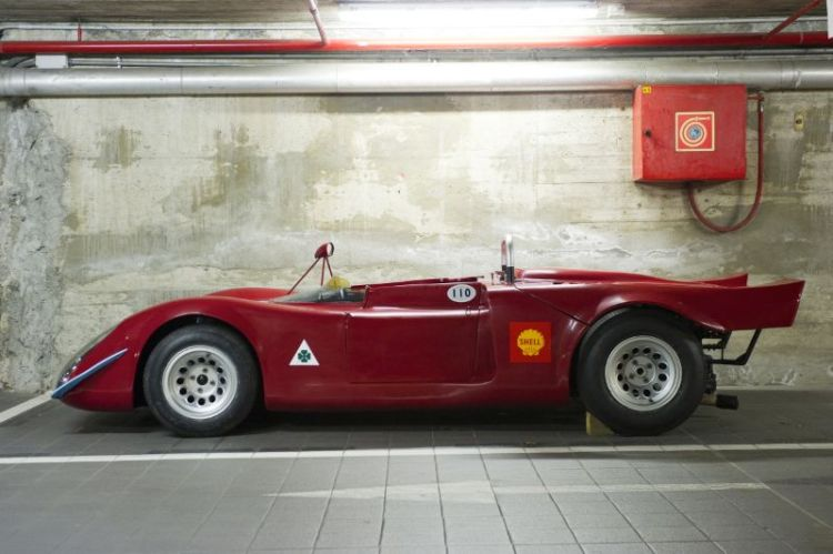 1968 Alfa Romeo T33/2 Spider, Alessandro Carrara