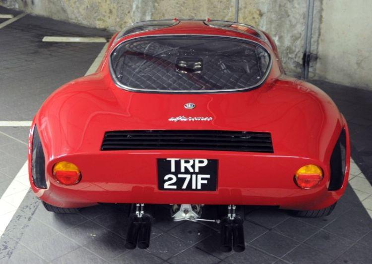 1968 Alfa Romeo 33 Stradale, Clive Joy