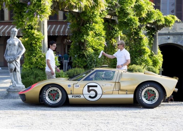 1965 Ford GT40 MkII, Claude Nahum