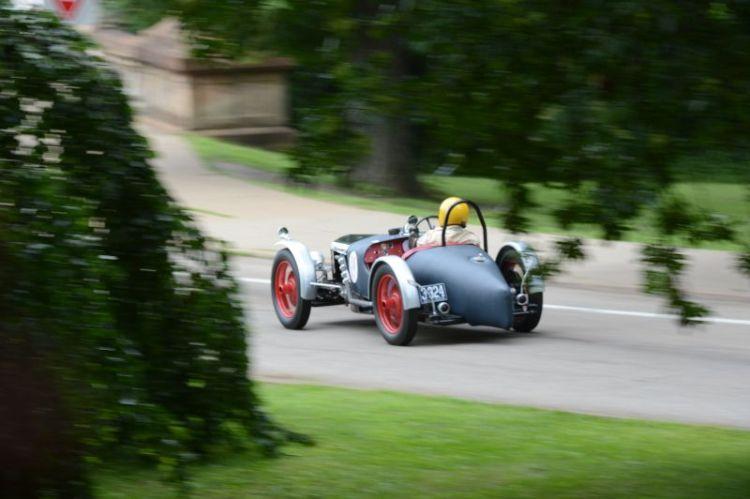 Ray Morgan 1928 Riley Brookland