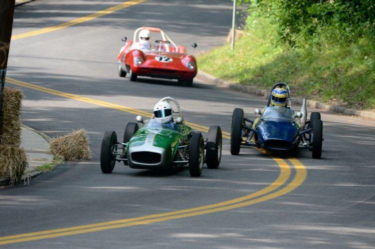 Peter Patterson- Lotus Fj- Stefan Vapaa- Quantum Formula S and #72- 1959 Elav Mk4- Alan Patterson III.