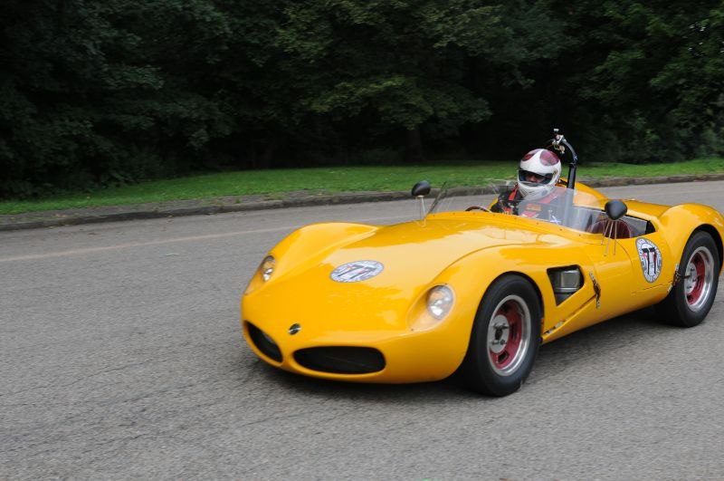 Alan Patterson, Sr 1958 Elva Mark 3.
