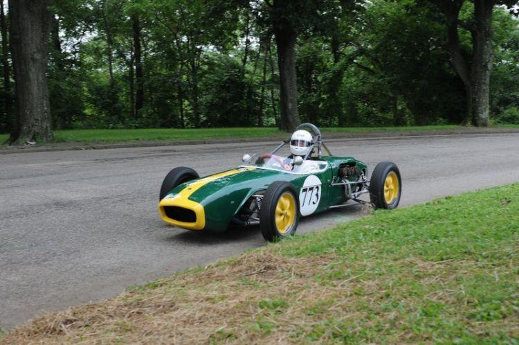 David Allison 1960 Lotus 18.