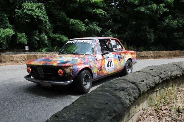 Roy Hopkins 1969 BMW 2002.