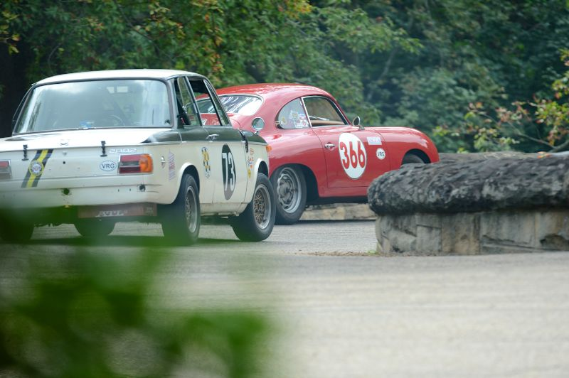 William Swartz- Porsche 356 and the BMW 2002 of Jim Wisbon.