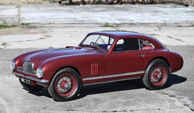 1949 Aston Martin DB Mk II (photo: Mathieu Heurtault)