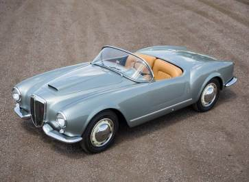 1955 Lancia Aurelia B24S Spider America (photo: Mike Maez)
