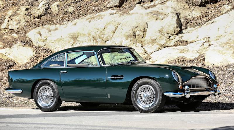 1965 Aston Martin DB5 Vantage (photo: Mathieu Heurtault)